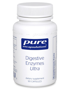 Bottle of Digestive Ultra Supplements
