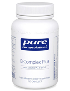 Bottle of B Complex Plus Supplements
