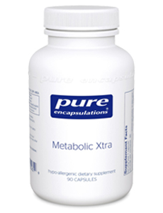 Bottle of Metabolic Xtra Supplements